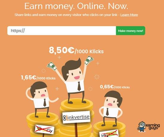 Linkvertise Shrink URL