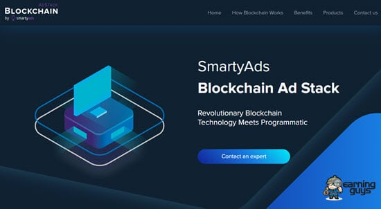 SmartyAds Blockchain Ad Stack
