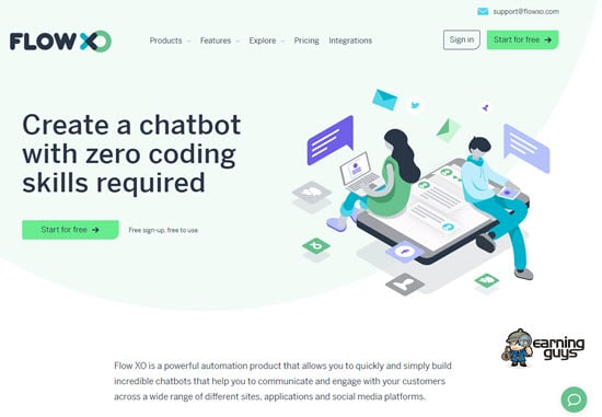 Flow XO Chatbots
