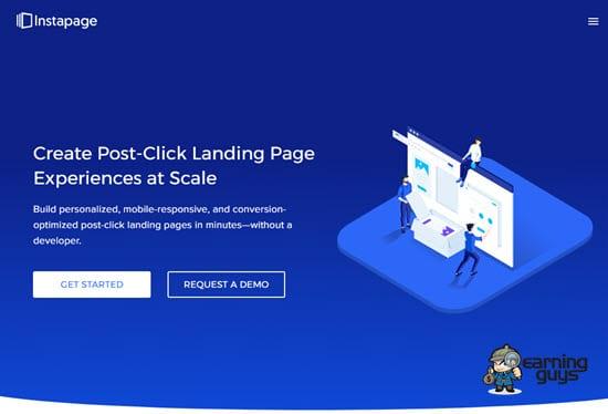 Instapage Landing Page Creator
