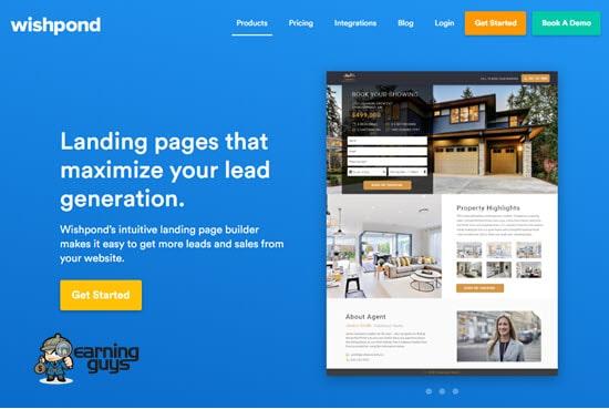 Wishpond Page Builder