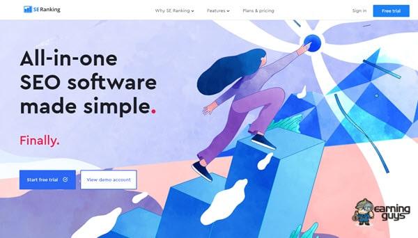 SE Ranking SEO Software