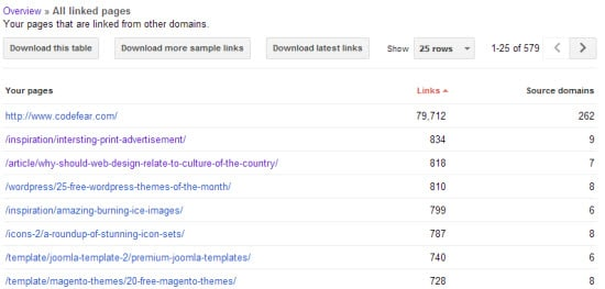 how to check backlinks