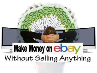 make money on ebay without selling