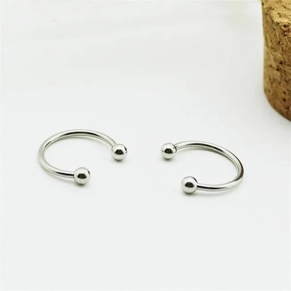 KPOP BTS Titanium Steel Stud Men Earrings