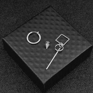 KPOP Earrings for Men Dangle Asymmetric Earring 5