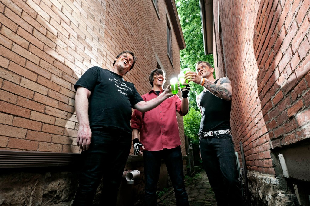 PseudoSentai-drink up [photo by Taylor Foiles]
