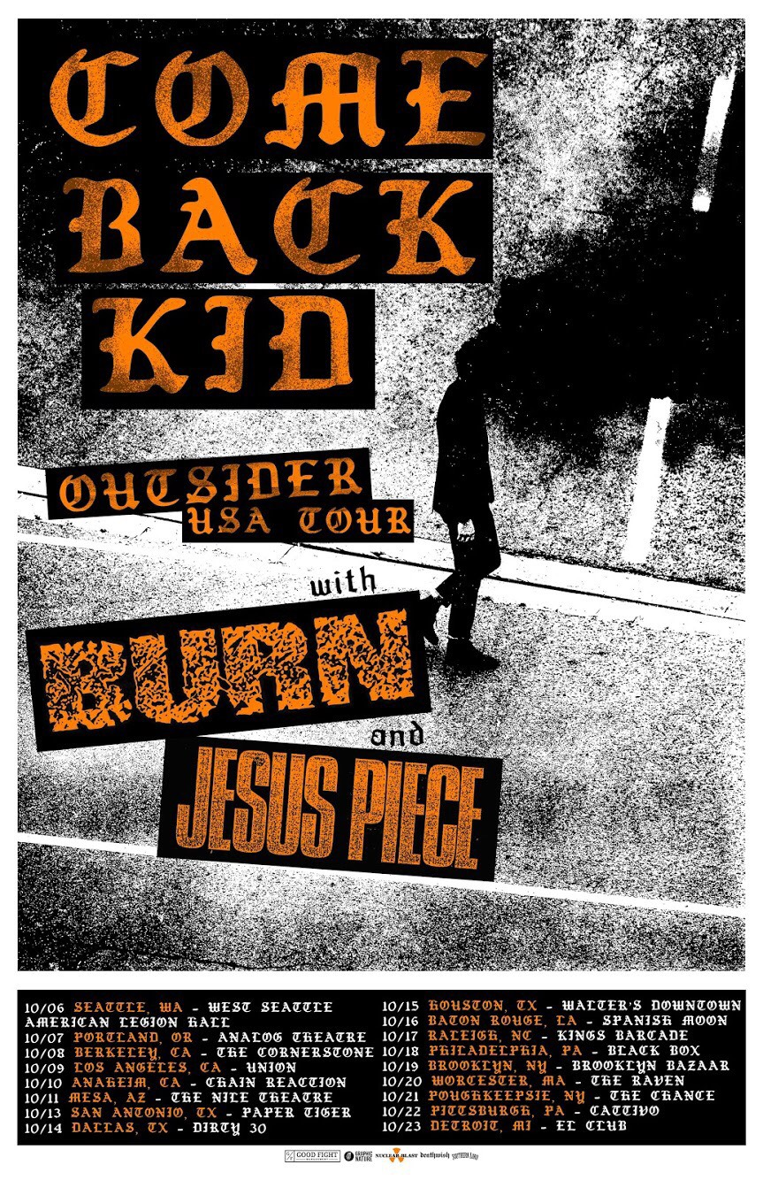 Comeback Kid - Burn - Jesus Piece