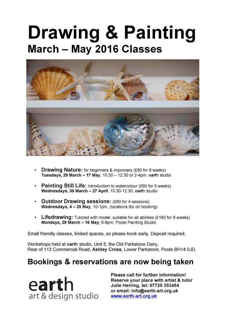 2016 poster Spring classes
