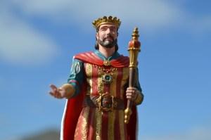 Plastic King Royal Crown Scepter
