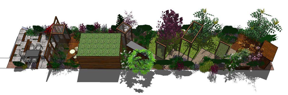 Timber Garden Swing