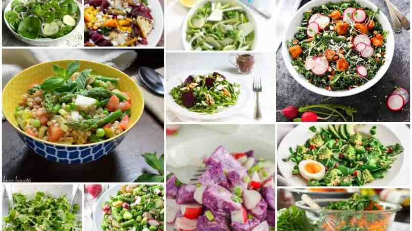 11 seasonal spring salads
