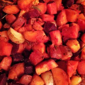 Sweet Roasted Root Veg [Vegan & Gluten Free]