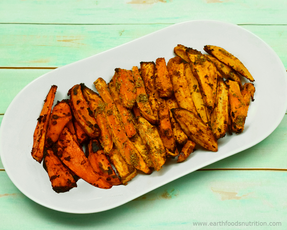 Sweet Potato Wedges: Four Ways! [Vegan and Gluten Free Recipes]