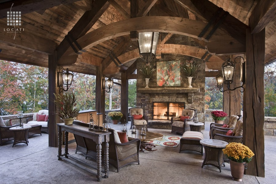 Rustic Country Patio