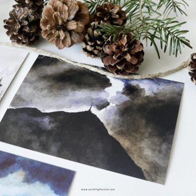 Carte postale du Puy de Dôme