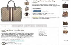Gucci Bag For Rent