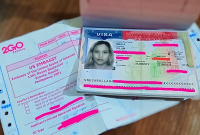 US Visa approved