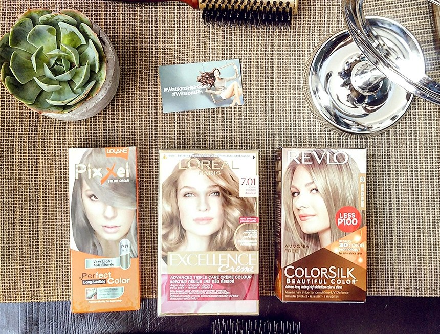 Make Your #HairGoals a Reality at #Watsonsph + 50% Sale on Hair Coloring Products