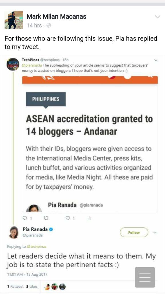 Philippine bloggers vs Philippine Mainstream Media