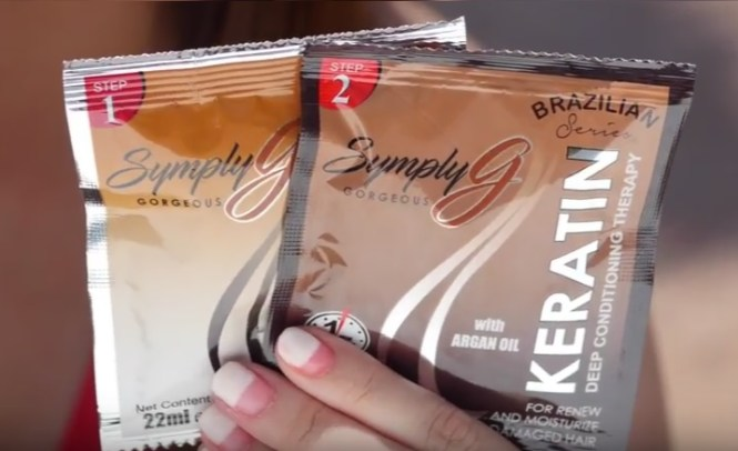 Symply G Keratin Shampoo and Conditioner Review