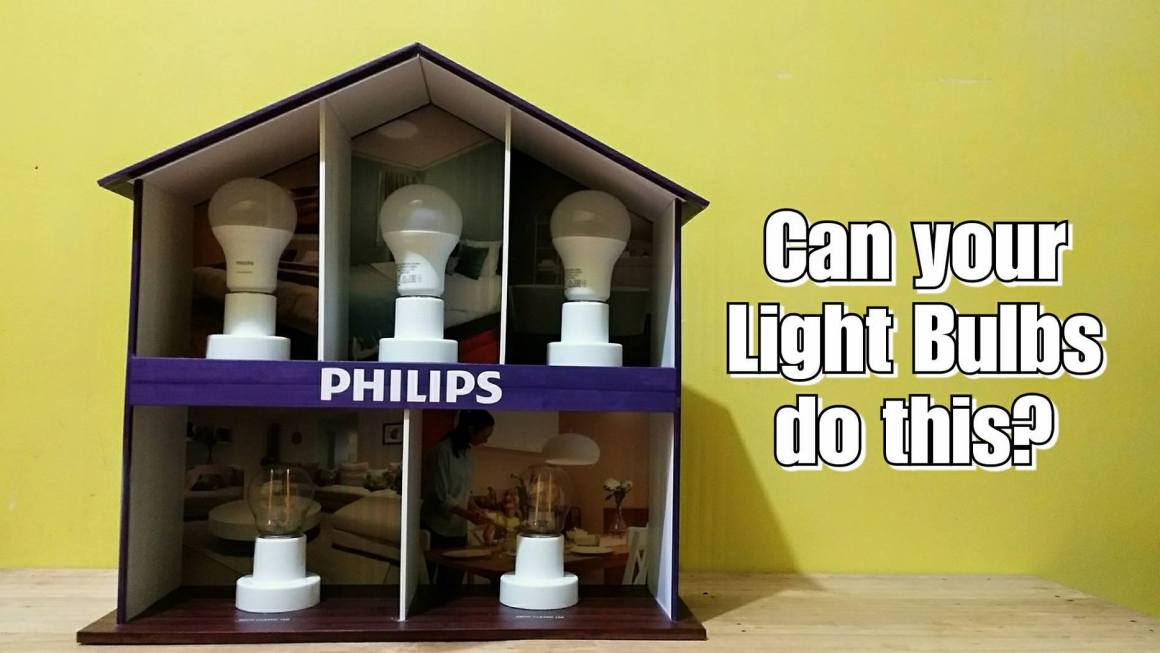 Can Your LED Light Bulbs Do This?