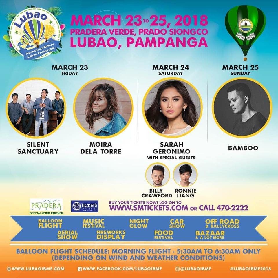 Lubao International Music and Balloon Festival 2018 #LubaoIMBF2018