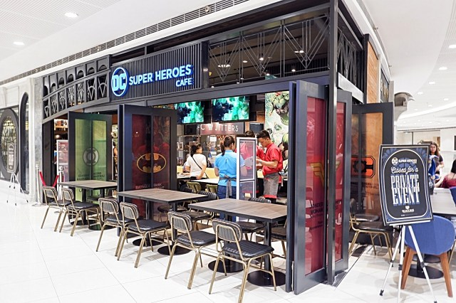 DC Super Heroes Cafe Philippines