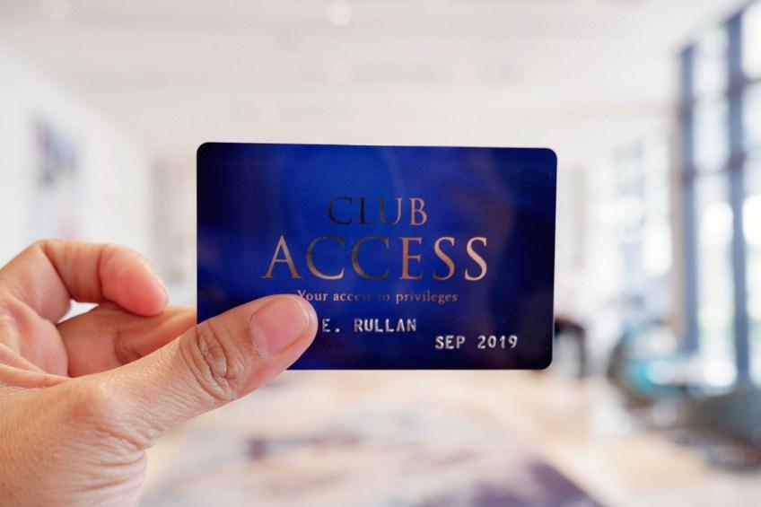 Club Access Card by Megaworld