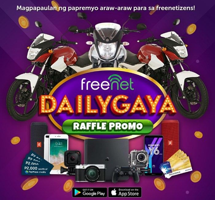 How to Win Prizes and Rewards Using the Freenet App #Dailygaya Promo