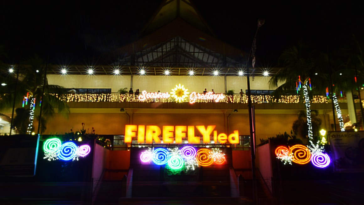 Christmas in the Philippines shines as Firefly LED illuminates the Metro