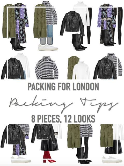 Packing For Your Trip To London
