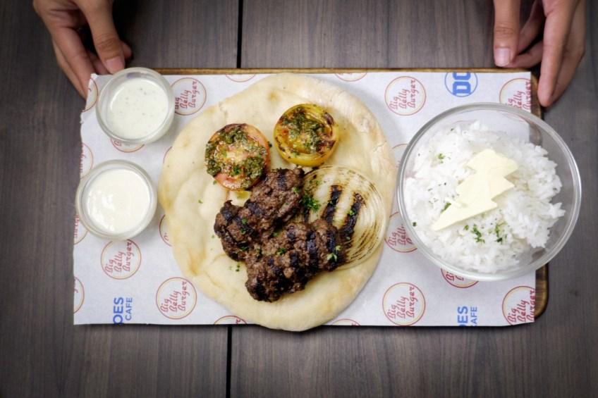 DC Cafe Shazam Beef Kebab
