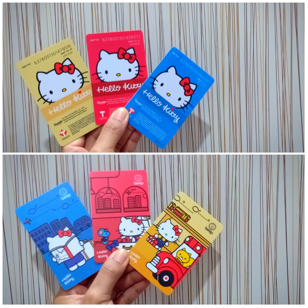 Hello Kitty Limited Edition Beep Cards