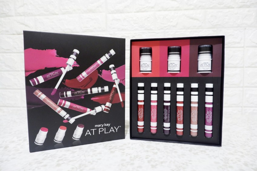 Mary Kay at Play Liquid Lip Color swatches review