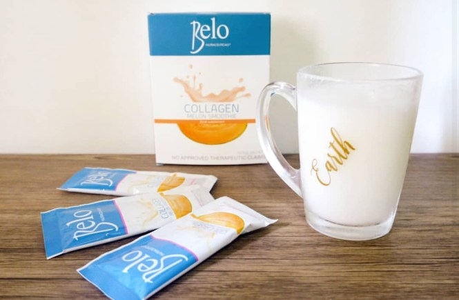 Belo Nutraceuticals Collagen Melon Smoothie