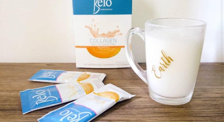 Belo Nutraceuticals Collagen Melon Smoothie