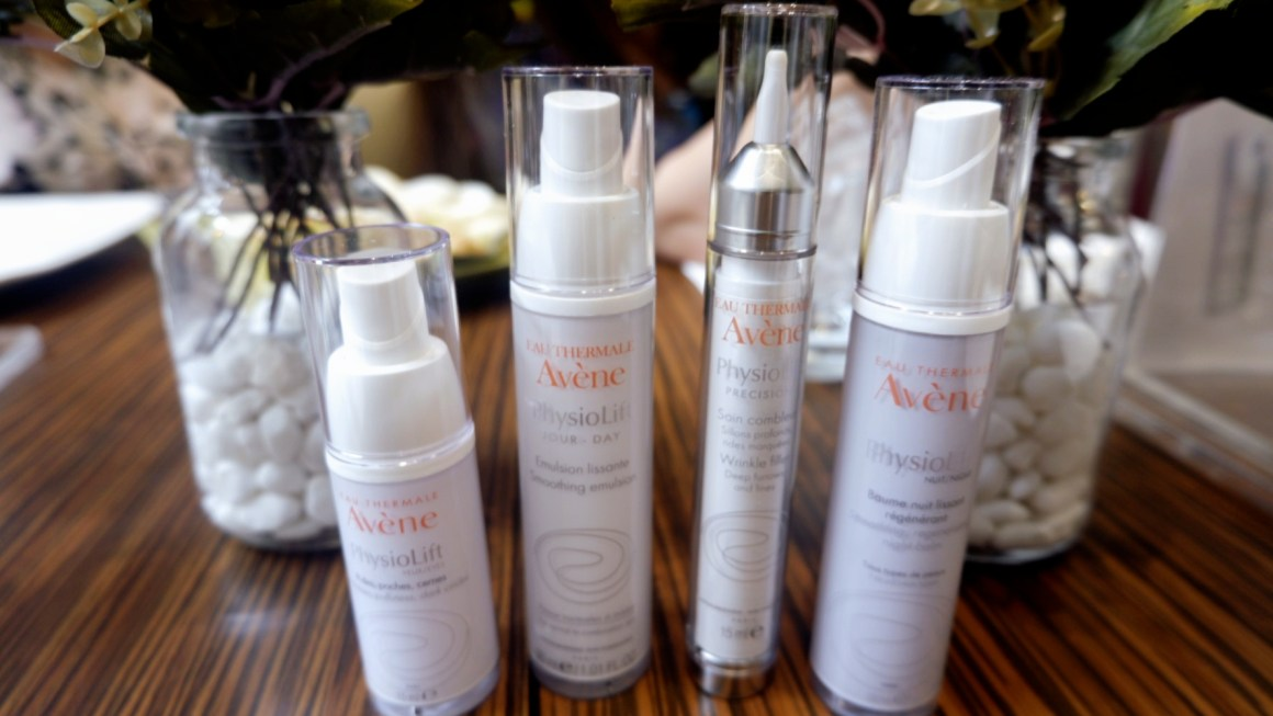 4-Step Anti-Aging Skincare Routine Using Eau Thermale Avène PhysioLift Anti-Aging Line