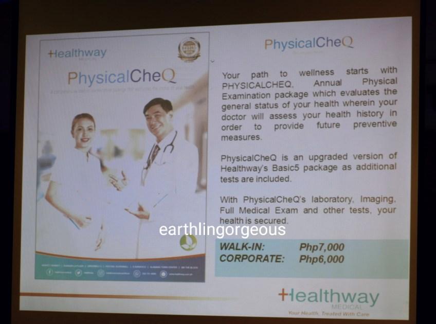 Healthway Medical Healthy lifestyle Bundle PjysicalCheQ