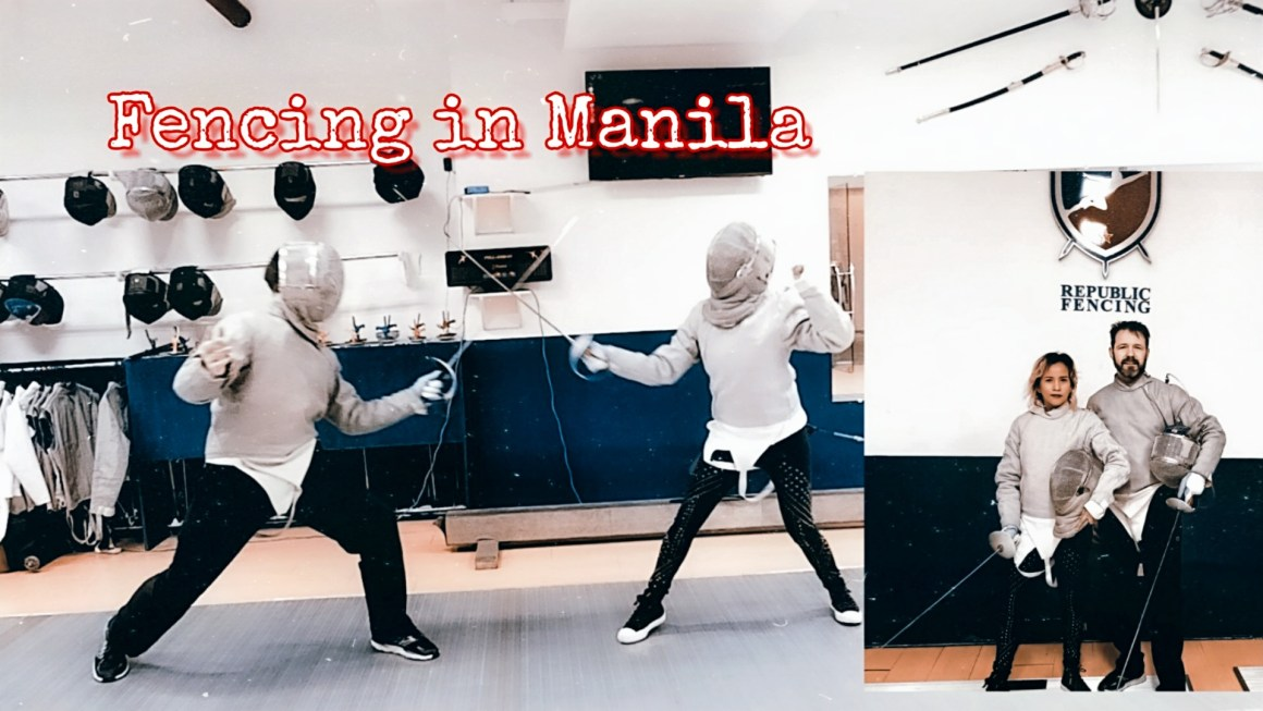 First Time Trying Out Fencing in Manila