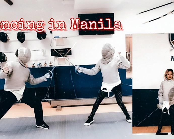 Republic Fencing in Manila