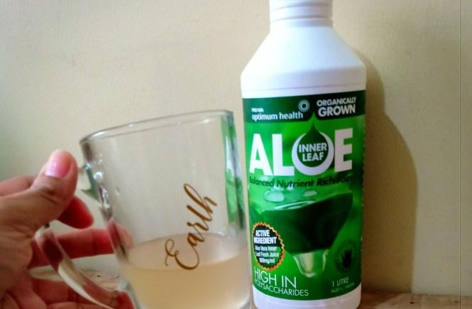 Grace Cosmetics Inner Leaf Aloe Juice Reveiw