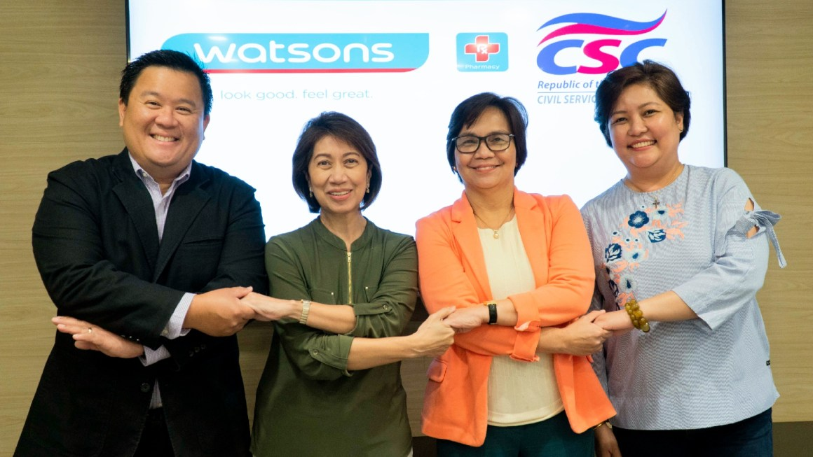Watsons gets active with Civil Service Commission for un run