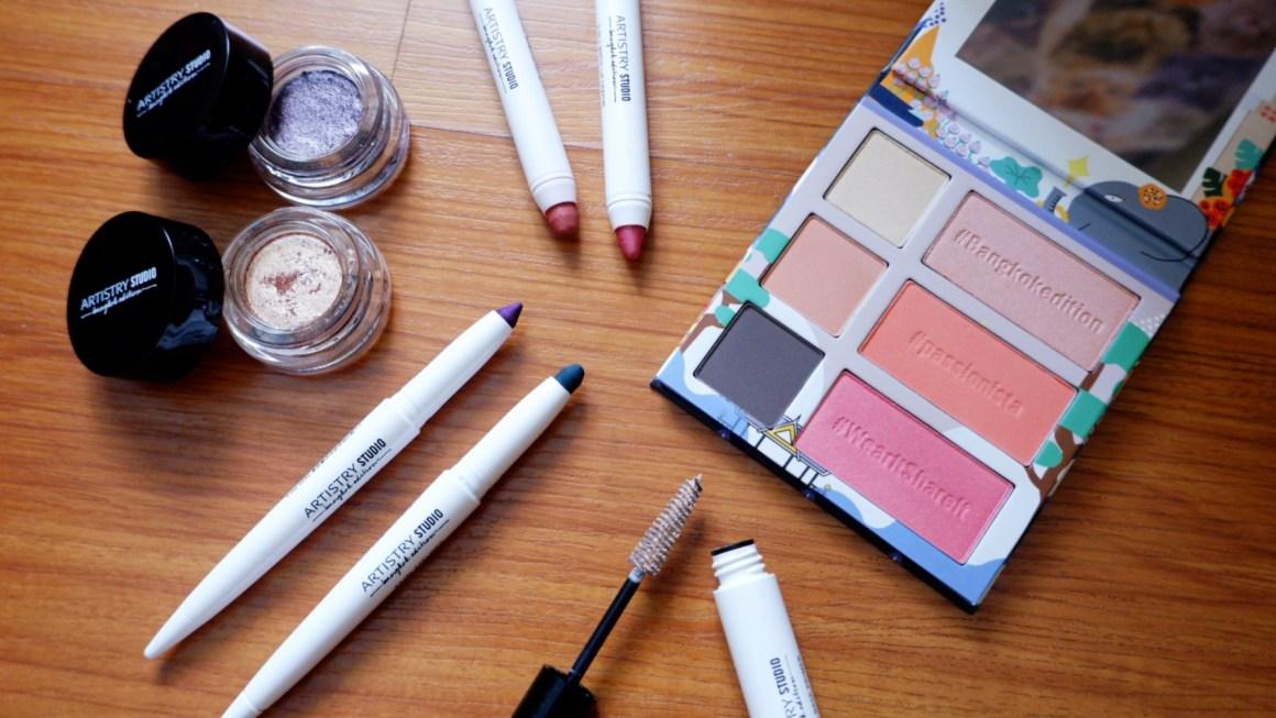 Swatch Party: Artistry Studio Bangkok Edition Makeup Line