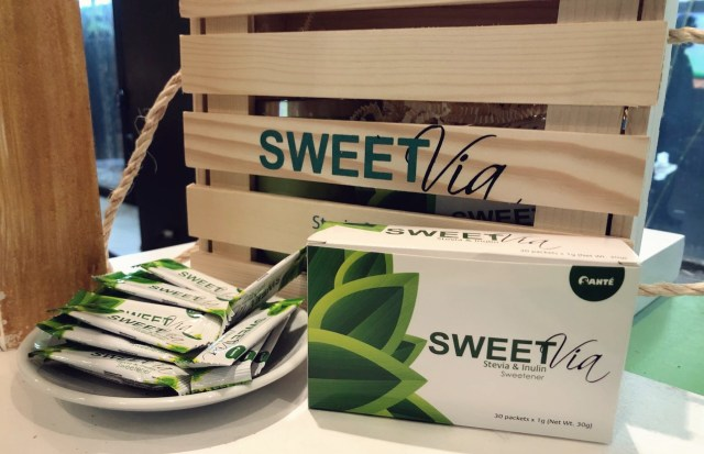 SweetVia Stevia with Inulin Launch
