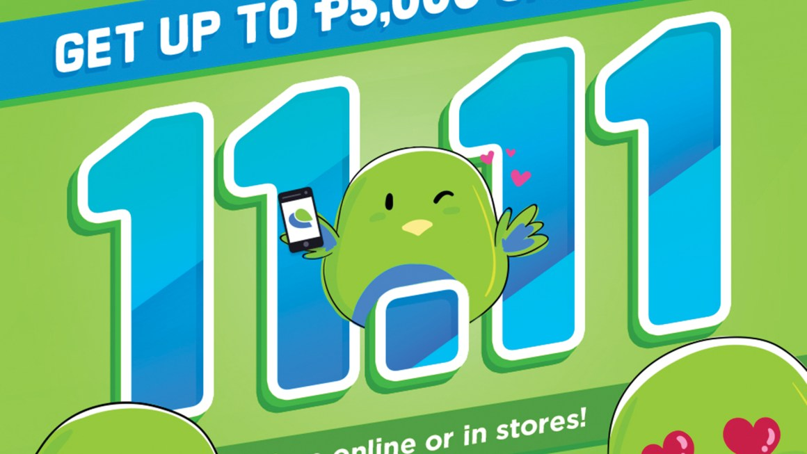 Don't Pay Cash Paymaya for your 11-11 Shopping Spree!