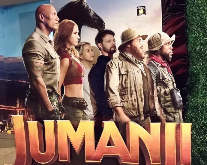 Jumanji The Next Level movie review