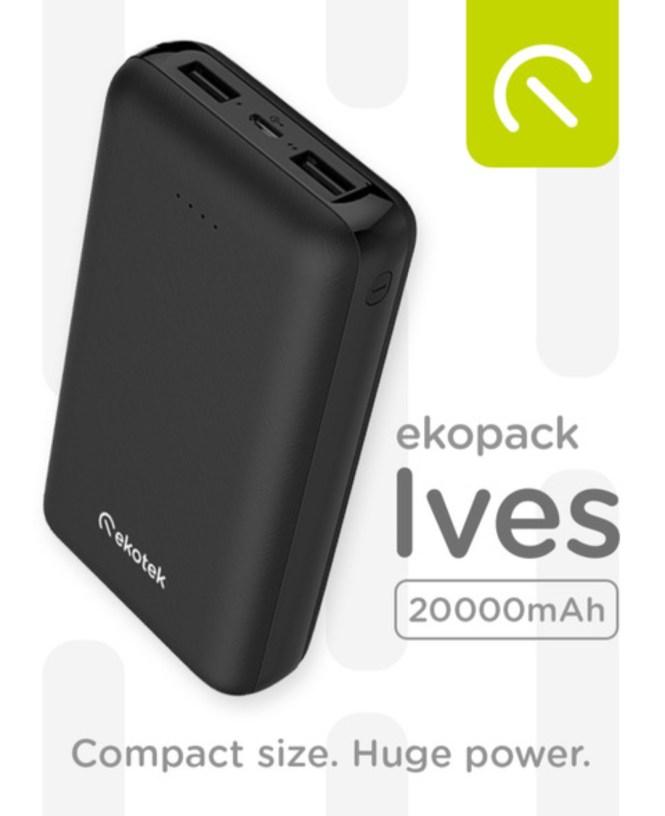 Ekotek's Ecopak Ives