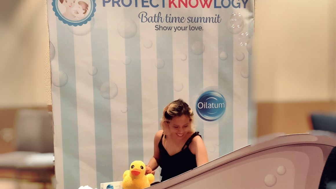 Things I've Learned from Oilatum ProtectKNOWLogy Bath Time Summit