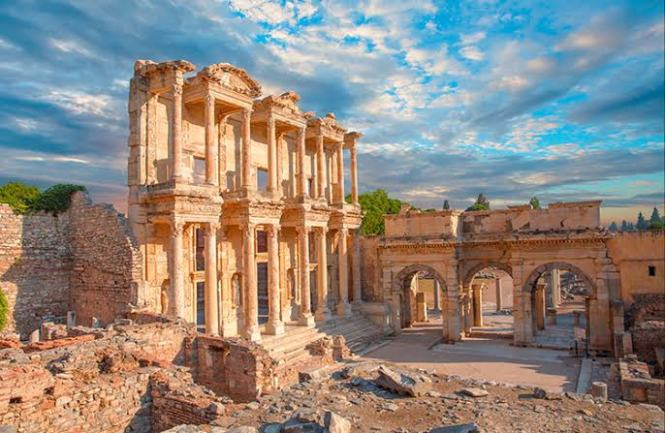 Ruins of Ephesus 7 Religious Sites to visit in the Middle East